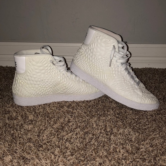 Nike Shoes | Custom White Nike High